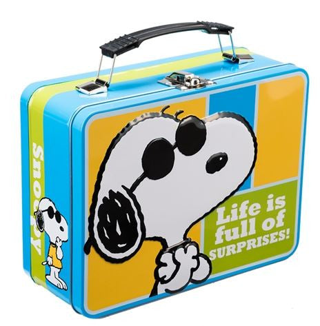 "Peanuts® ""Joe Cool"" Large Tin Tote"