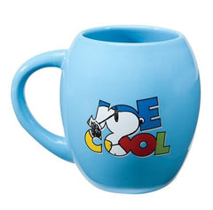 "Peanuts® ""Joe Cool"" 18 oz. Ceramic Oval Mug"