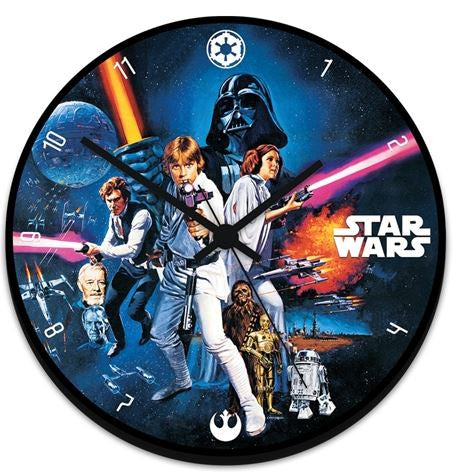 Star Wars™ Wood Wall Clock