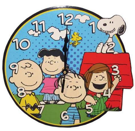 Peanuts® Gang Wall Clock