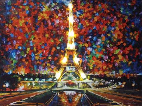 Paris Of My Dream Lighted Canvas Wall Art
