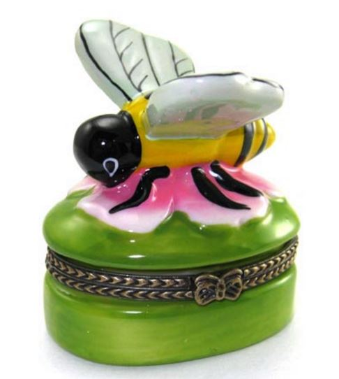 Bumblebee Small Ceramic Box