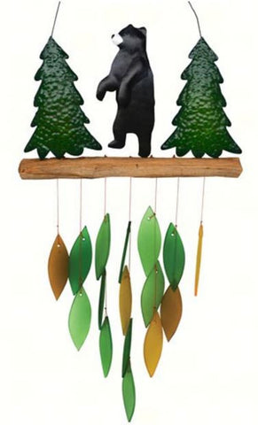 Tall Bear Wind Chime