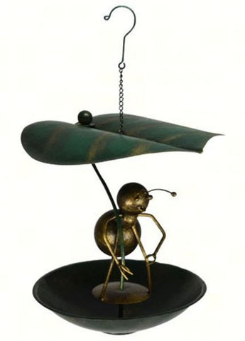 Ant Leaf Umbrella Bird Feeder