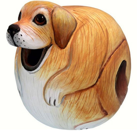Yellow Lab Gord-o Birdhouse
