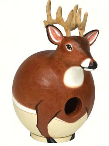White Tailed Deer Gord-o Birdhouse