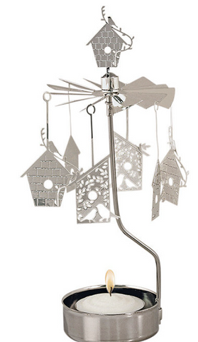Birdhouse Rotary Candle Holder