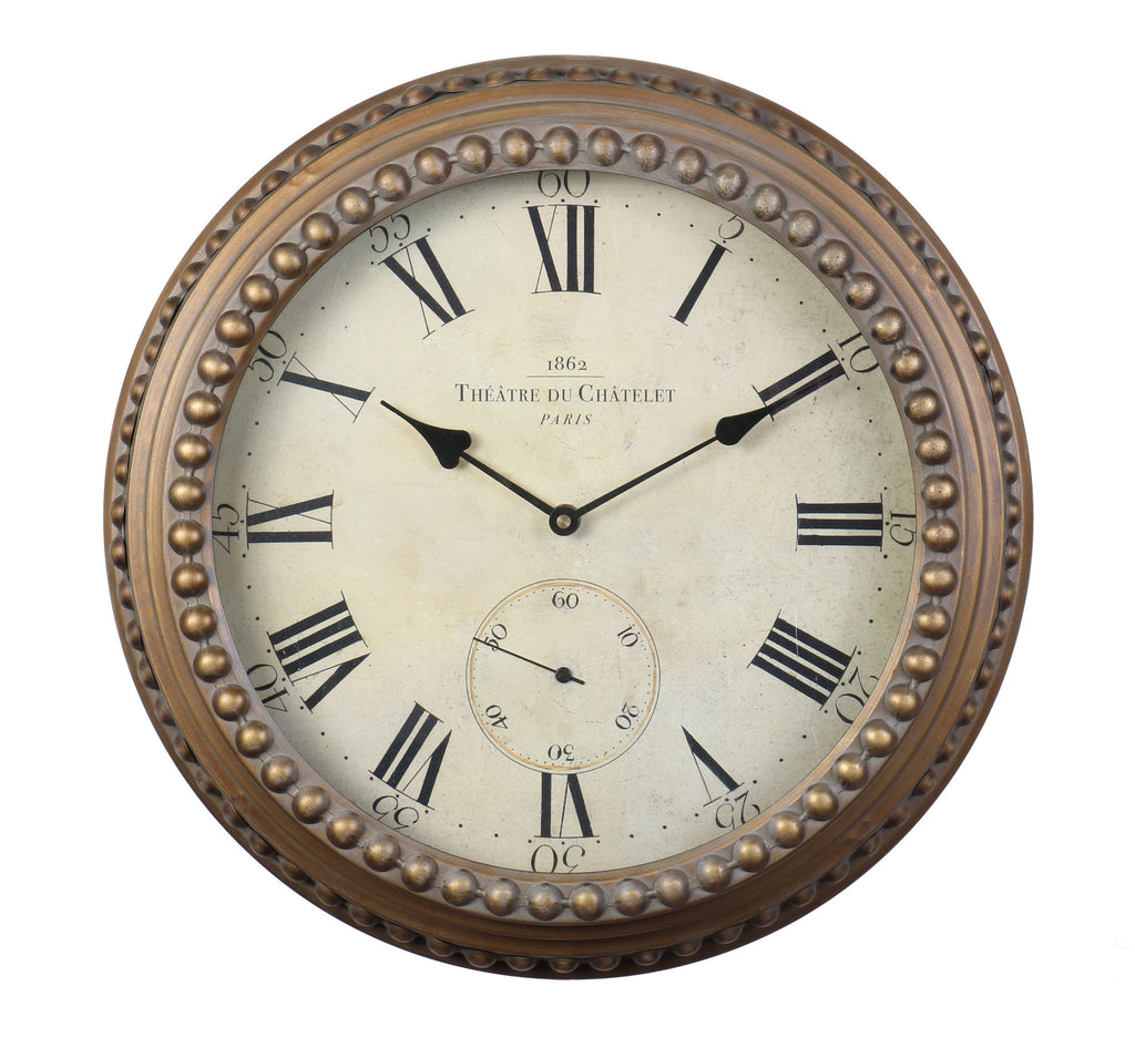 Chatelet Wall Clock