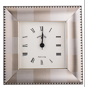 Light & Dark Grey Picture Frame Alarm Clock