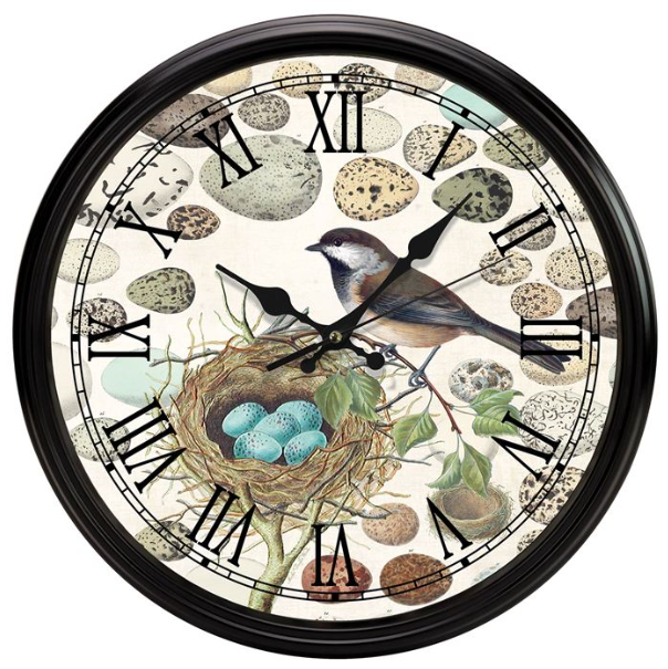 Nest & Eggs Kitchen Clocks