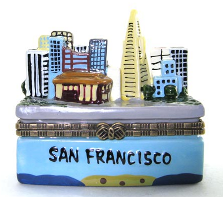 San Francisco Ceramic Box