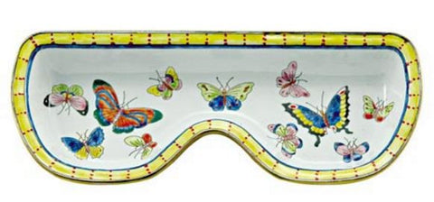 Eyeglass Holder with Small Butterflies