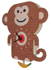 Monkey Pendulum Wall Clock