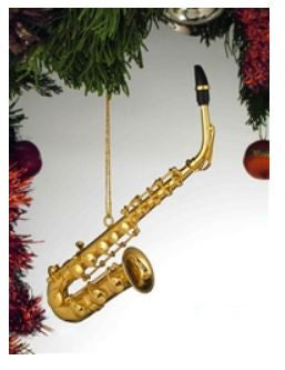 Brass Alto Saxophone Hanging Decoration