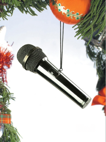 Microphone Hanging Decoration