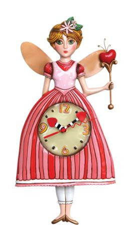 Princess Pixie Pendulum Wall Clock