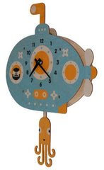 Submarine Pendulum Wall Clock