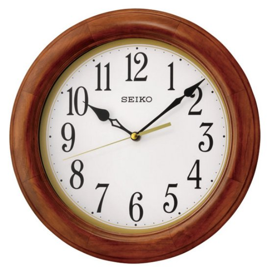 Light Brown Wall Clock