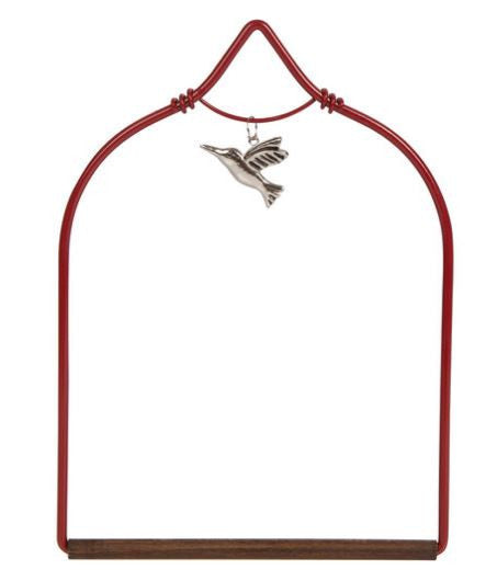 Red Charm Hummingbird Swing