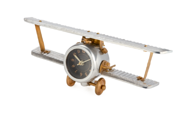 Biplane Table/Wall Clock