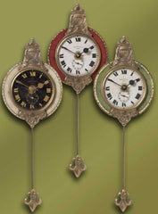Red Monarch Wall Pendulum Clock