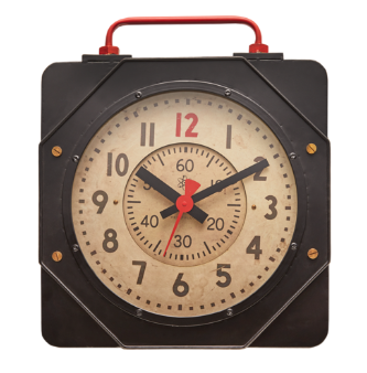 Engine Room Wall Clock