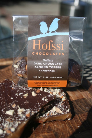 Hofssi Dark Chocolate Toffee - 3oz.