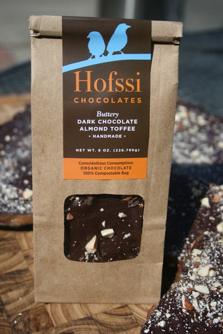 Hofssi Dark Chocolate Toffee - 8oz.