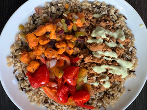 Ancho Sweet Potato Bowl - Choose your Protein