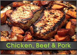 BBQ Pork Chop & Sweeter Sweet Potatoes