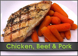 Marinated Chicken w/ Roasted Carrots & Side Salad