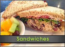 Chicken Almondine Sandwich w/ Fruit Cup