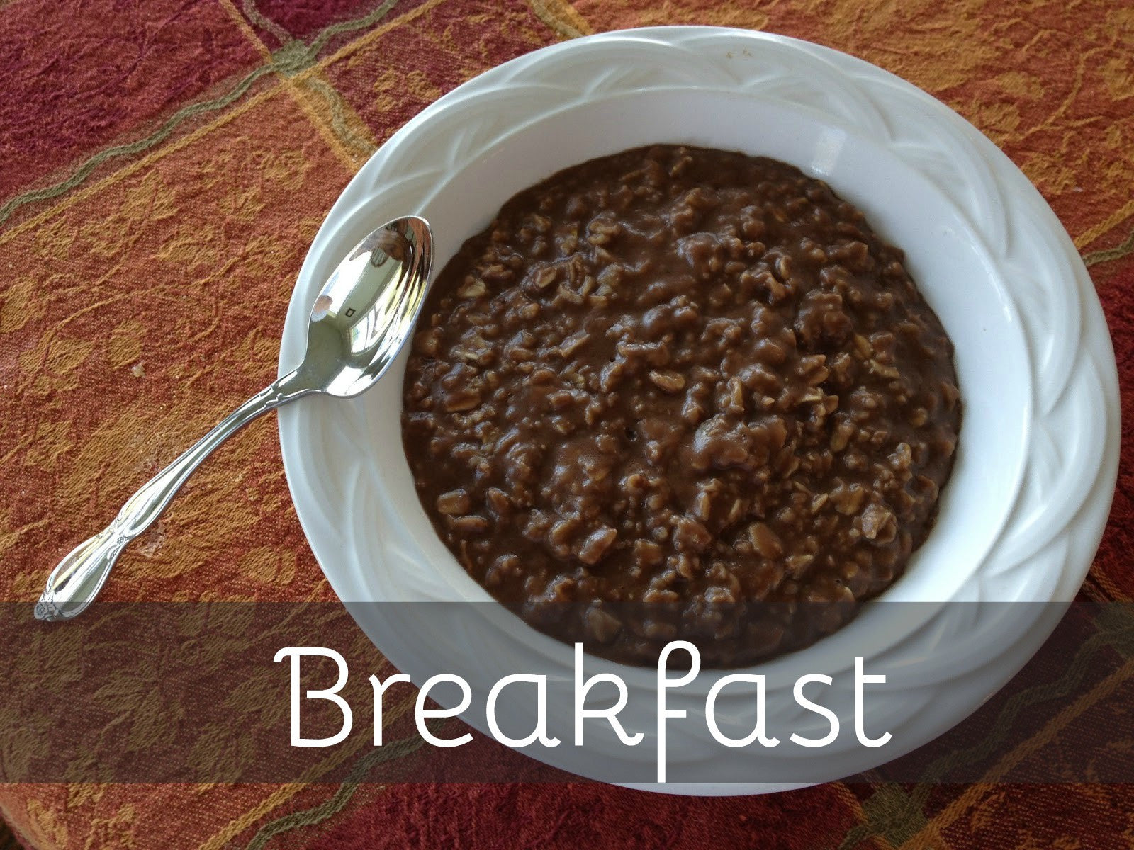 Chocolate Protein Oatmeal