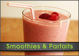Chocolate, Raspberry & Vanilla Smoothie