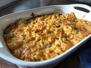 Smoked Cauliflower Mac and Cheese