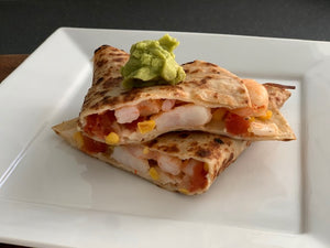 Mexican Shrimp Quesadilla