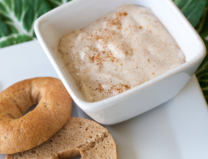 Cinnamon Roll Yogurt & Bagel