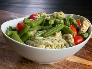 Basil Pesto Pasta - Click for Choices