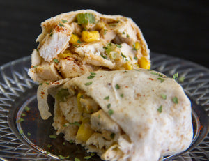 BBQ Chicken Salad Wrap