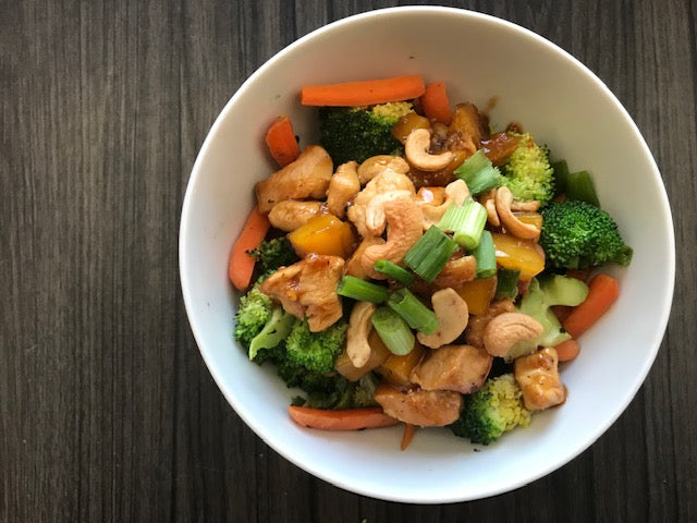 Cashew Broccoli Bowl - Click to Choose your Protein