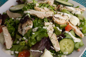 Chicken Cobb Lettuce Salad
