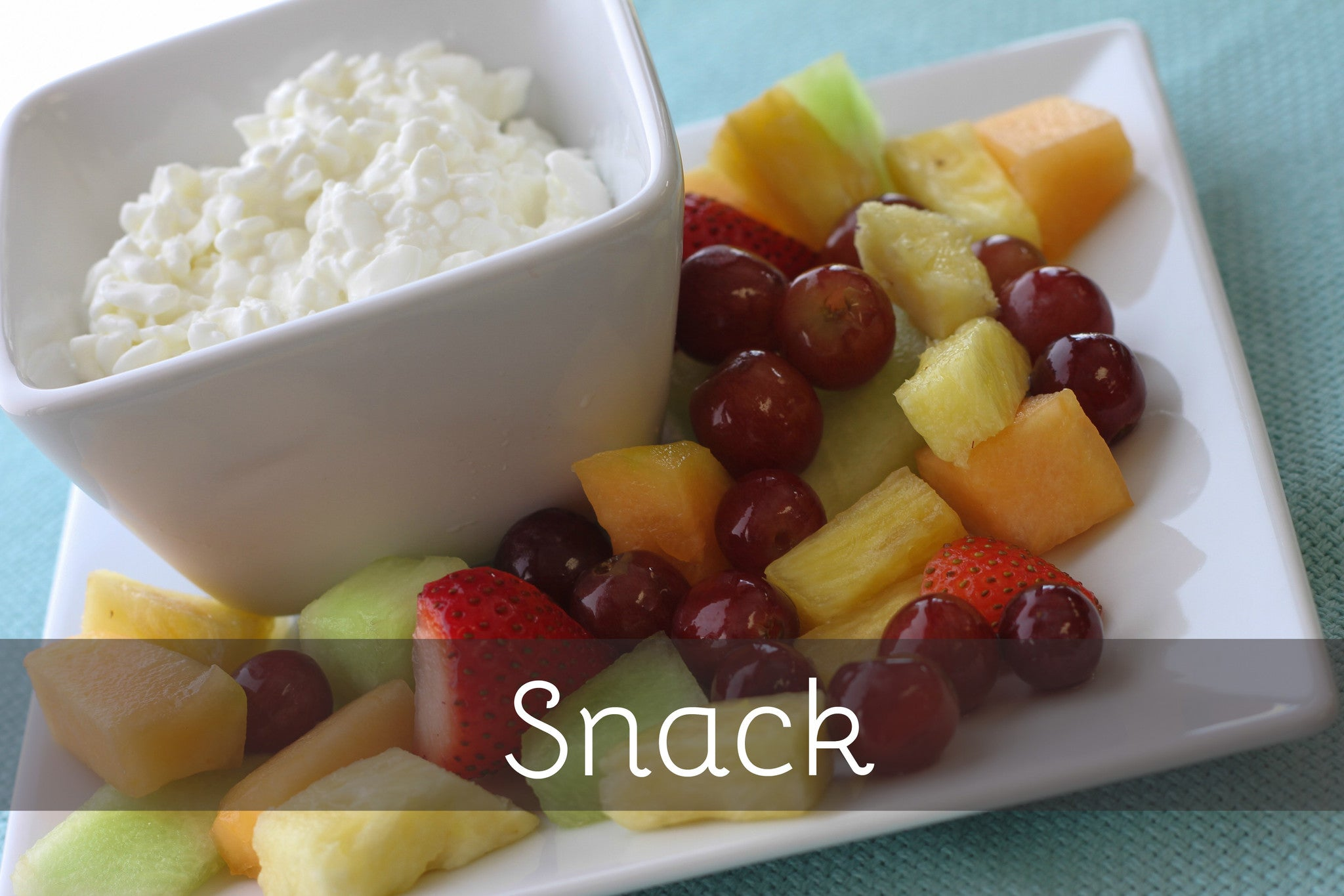 Mixed Fruit & Cottage Cheese