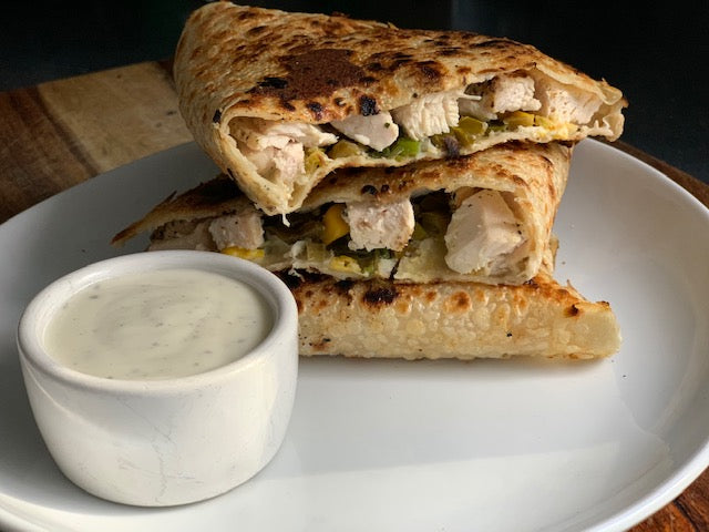Jalapeno Chicken Quesadilla