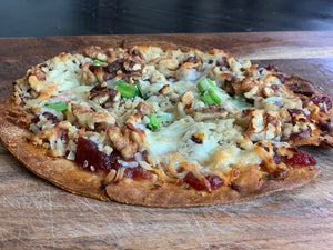 Sweet and Nutty Pizza