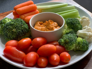 Veggies (your choice of ranch or hummus)