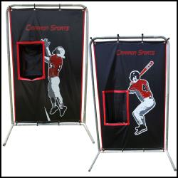 Load image into Gallery viewer, CIMARRON SPORTS 2-SPORT CATCHER VINYL BACKSTOP WITH FRAME