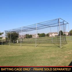 CIMARRON SPORTS- #24 TWISTED POLY BATTING CAGE NET (32X32X12)