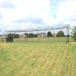 CIMARRON SPORTS- #24 BATTING CAGE NET WITH FRAME (55X12X12)