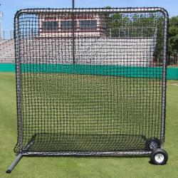 CIMARRON SPORTS- #84 PREMIER FIELDING NET AND FRAME WITH WHEELS (7X7)