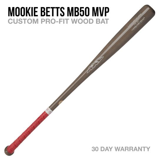 AXE BAT- MOOKIE BETTS MB50 MVP CUSTOM PRO-FIT WOOD BAT